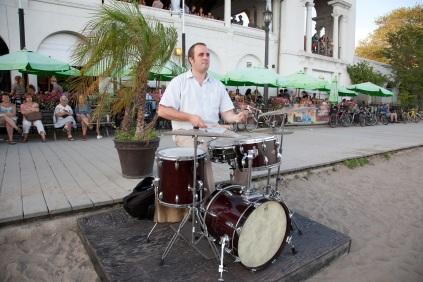 Nick Fraser on Drums