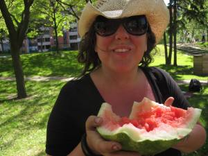 Leah Houston—Watermelon Smash, 2011