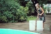 Water drumming, Mabelle Park