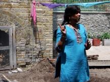 Sharada Eswar, the story of Krisha subduing Kaliya, Brickworks