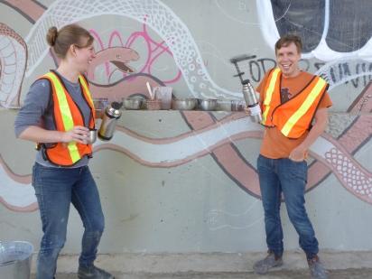 River Rising installation - Sonja Rainey & Sean Frey