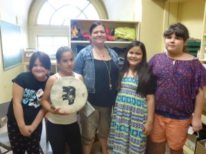First Nations School - singing group