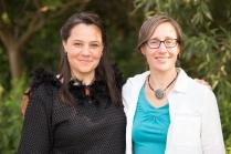 Penny Couchie (Aanmitaagzi) & Juliet Palmer (Urbanvessel). Photo: Saajid Motala