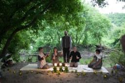 "GREX with Alex Samaras (solo). ""Dreaming of Trees"": words Nicholas Power, music Juliet Palmer. Photo: Giulio Muratori."