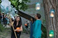 River Songs (Aki Takahashi, Maryem Tollar & Susha Rangarajan). Photo: Giulio Muratori.