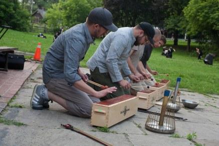 TorQ Percussion Quartet. Photo: Giulio Muratori.