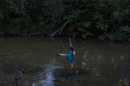 Water Spirit - Julia Aplin. Photo: Giulio Muratori.
